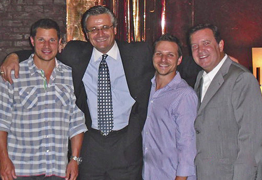 98 degrees visits tonys-private party