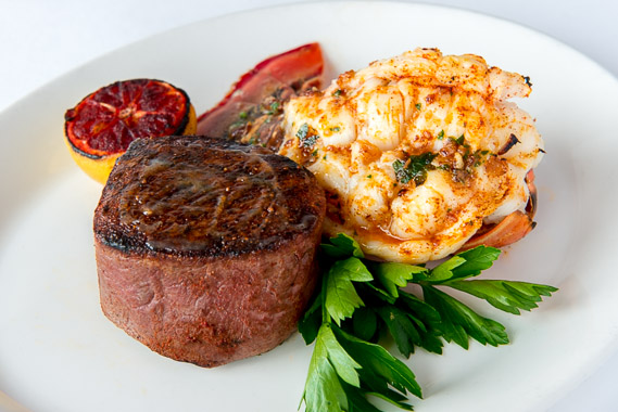 surf turf tonys steak and seafood
