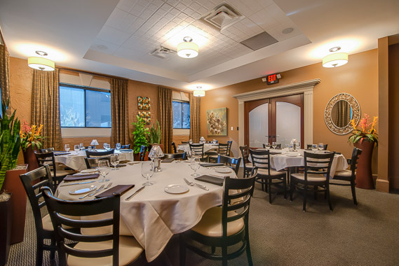 Tonys Steaks Seafood Split Layout Dining Room
